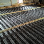 Маяки уровня заливки бетоном
