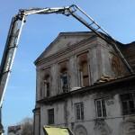 """""""Эльба"""" меняет места подачи бетона"""