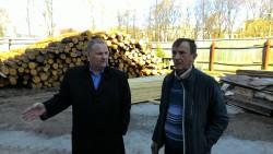 Токмаков И. А. с братом возле Спасского собора